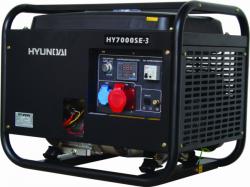 Генератор бензиновый Hyundai HY 7000SE-3