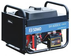 Бензиновый генератор SDMO TECHNIC SH 6000 E