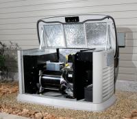 Установка и монтаж газового генератора в помещении